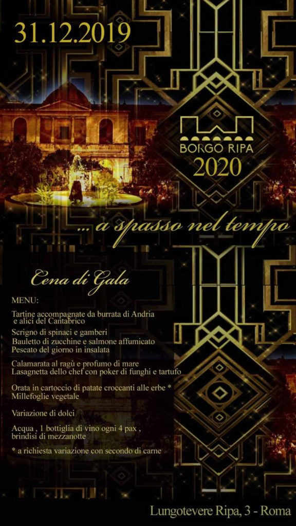 Capodanno 2020 Borgo Ripa