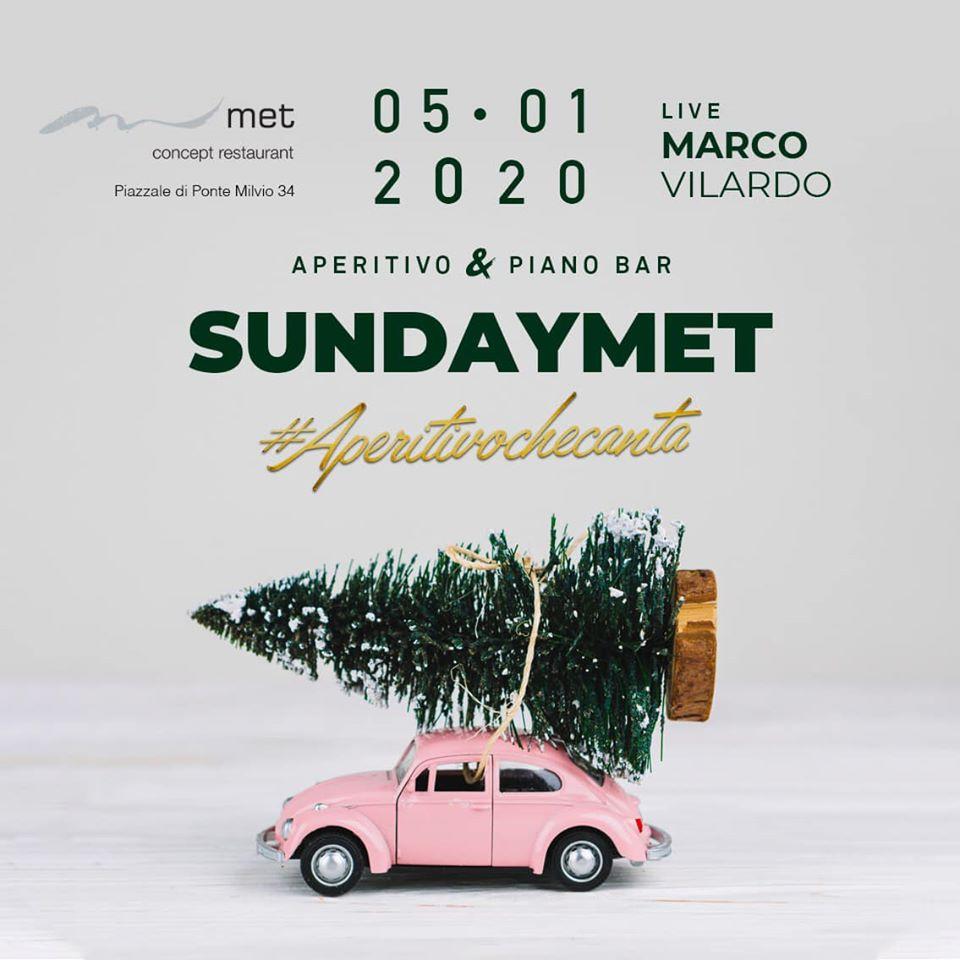 Met Ponte Milvio: L'aperitivo della domenica 5 gennaio 2020