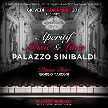 Shari Vari giovedì 12 dicembre 2019 Aperitivo Palazzo Sinibaldi