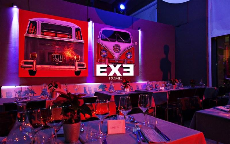 EXE ROMA sabato 8 febbraio 2020 Aperitivo Cena Discoteca in zona EUR