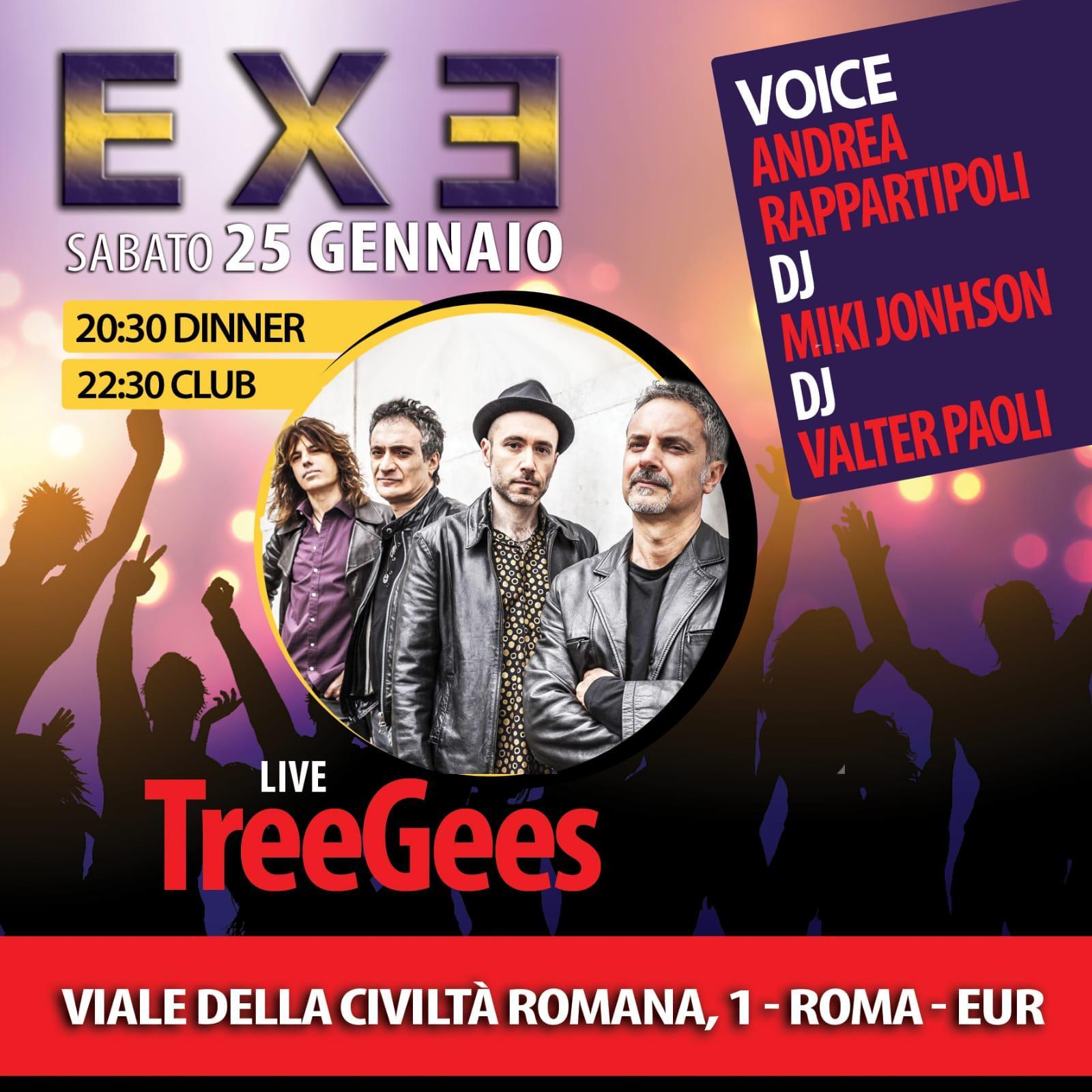 Discoteca EXE sabato 25 gennaio 2020 Aperitivo Cena Club