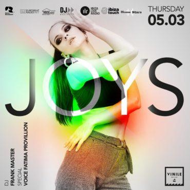 JOYS Vinile Roma giovedì 5 Marzo 2020: Aperitivo e Discoteca Ostiense