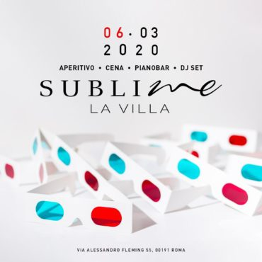 Aperitivo Che Canta @ Discoteca La Villa venerdì 6 Marzo 2020 Roma