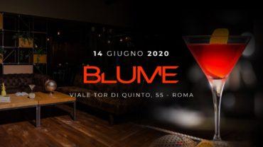 Aperitivo BLUME Garden Domenica 14 Giugno 2020 SUNDAY Ponte Milvio