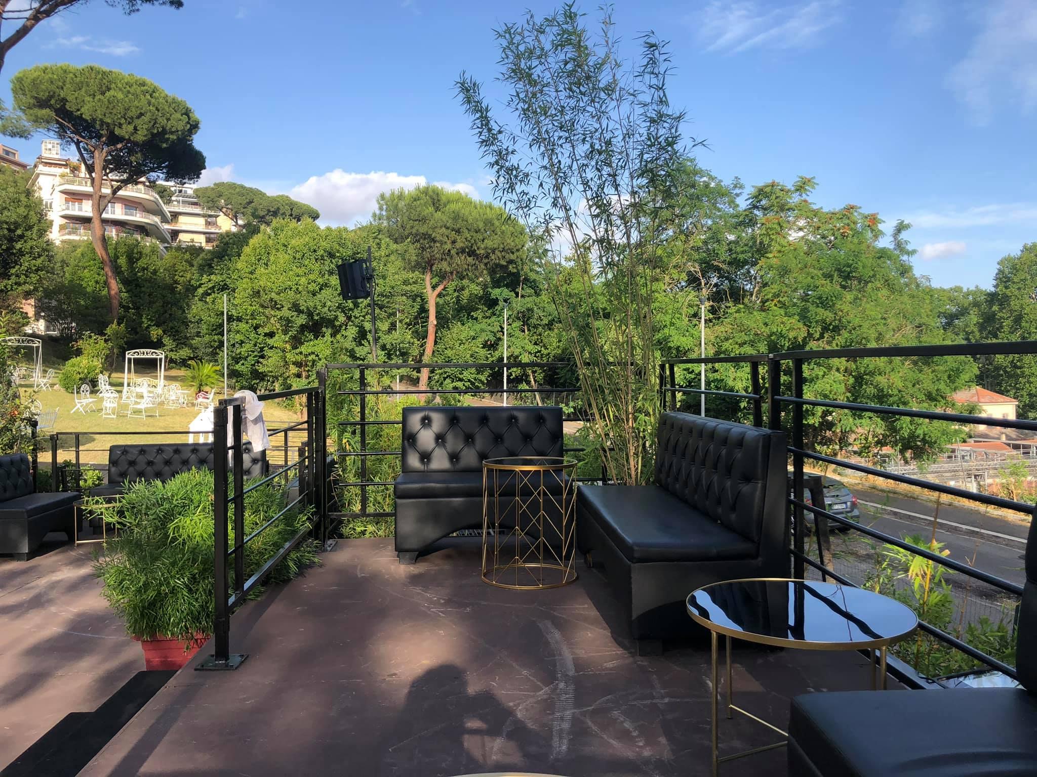La Villa Roma sabato 13 giugno 2020 Aperitivo Cena Roof Garden