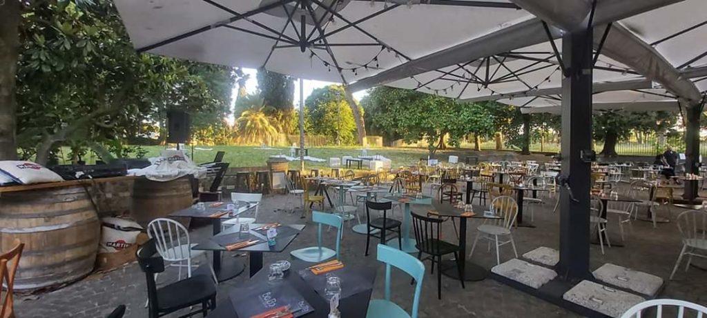 ristorante all'interno della casa del jazz - giardino 3
