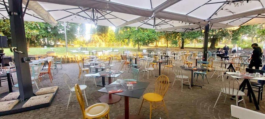 ristorante casa del jazz - giardino 3