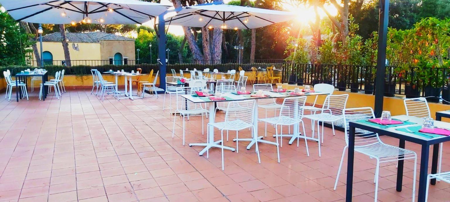 ristorante casa del jazz - terrazza 2