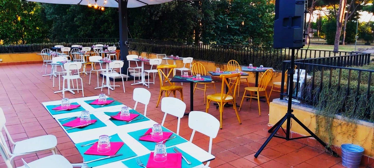 ristorante casa del jazz - terrazza 3