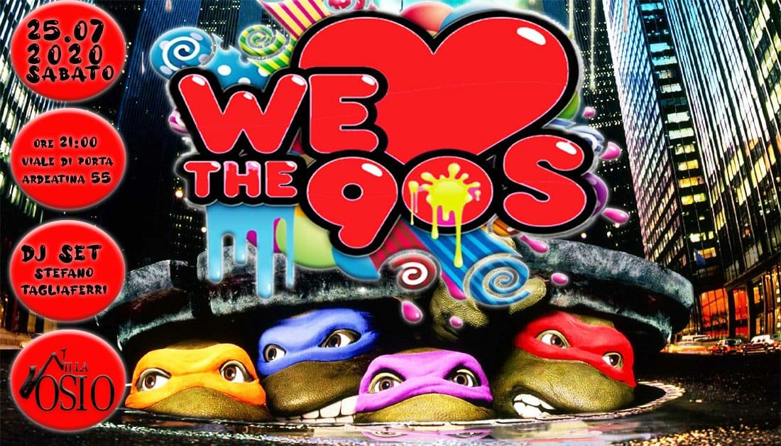 90'S Party Villa Osio sabato 25 luglio 2020