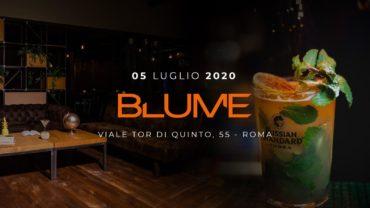 Aperitivo BLUME Garden Domenica 5 Luglio 2020 SUNDAY a Ponte Milvio