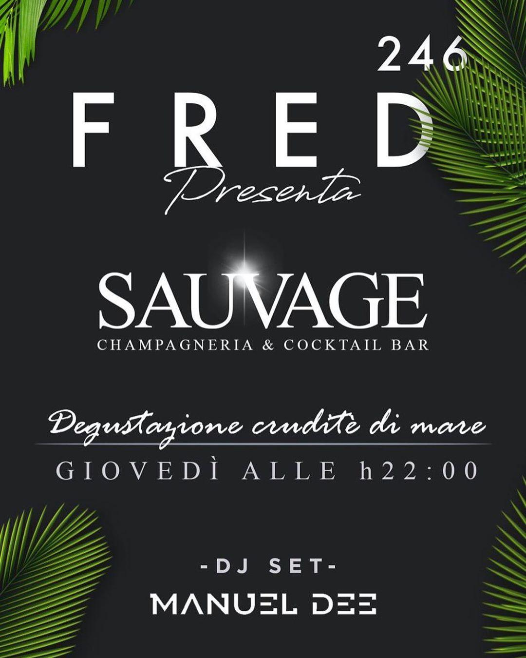 FRED246 CASAL PALOCCO ROMA SAUVAGE LA SERATA DEL GIOVEDI'