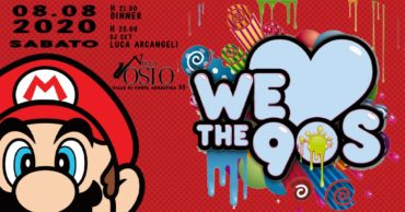Villa Osio sabato 8 Agosto 2020 Cena e Djset nel Garden
