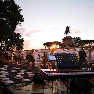 Terrazza Gianicolo venerdì 4 9 2020 DOT MUSIC LIVE