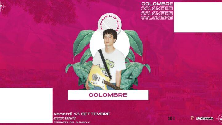 Colombre Live @ Terrazza Gianicolo venerdì 18 settembre 2020