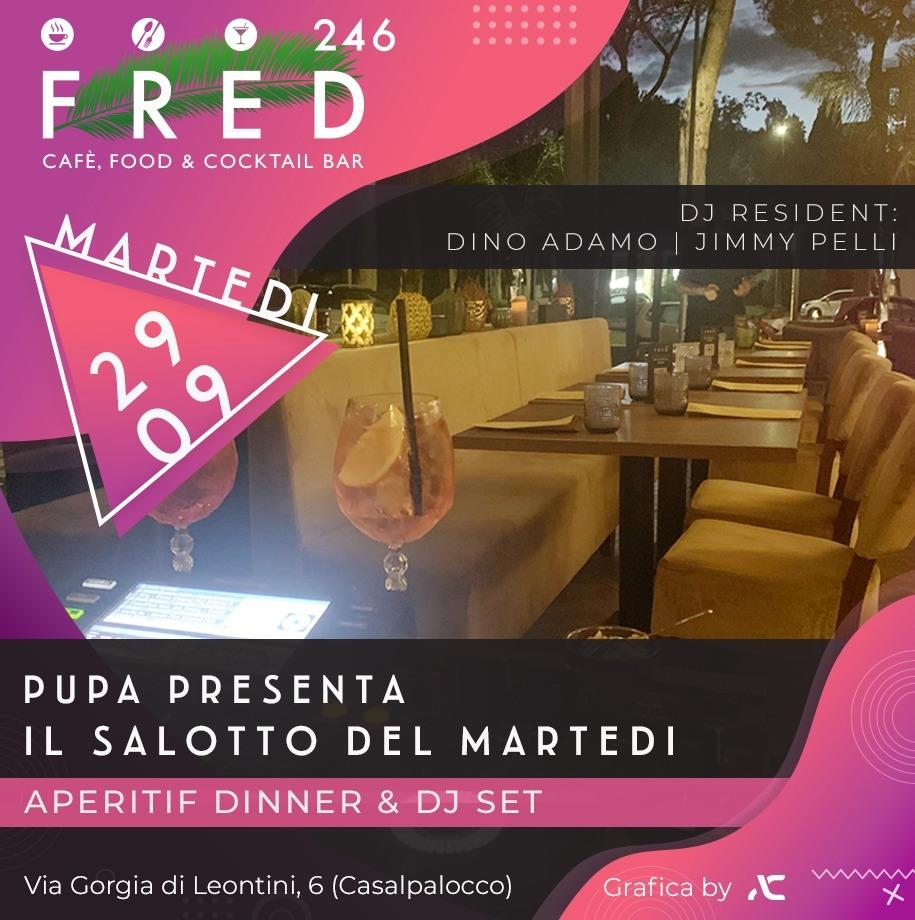 Fred246 martedì 29 settembre 2020 Ape&Djset il salotto sotto le stelle di Casal Palocco
