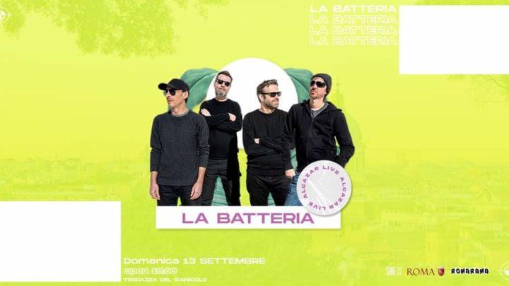 La Batteria at Terrazza Gianicolo domenica 13