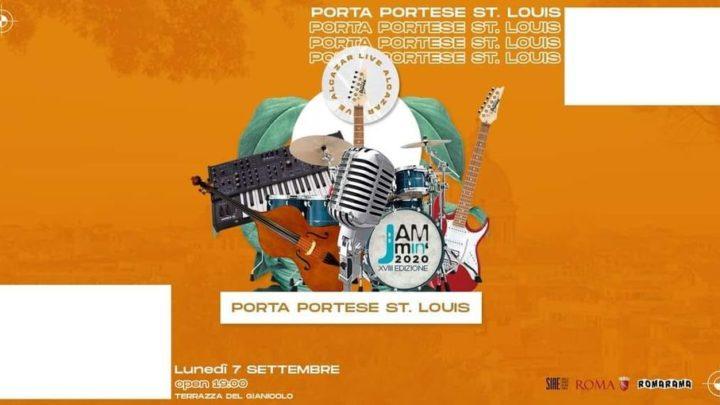 Porta Portese St Louis Terrazza Gianicolo Roma lunedì 7 settembre 2020