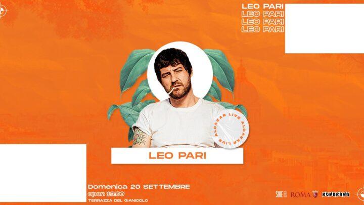 Terrazza Gianicolo domenica 20 settembre 2020 Leo Pari Music Food & Drink