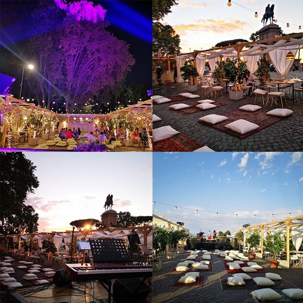 Terrazza Gianicolo martedì 15 settembre 2020 Aperitivo Panoramico Roma