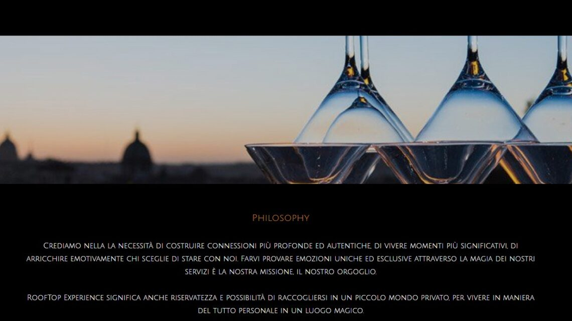 rooftop luxry roma