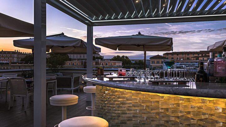 THE GLAM ROMA HOTEL [2020] SUNDAY ROOFTOP APERITIV TERRAZZA MONTI TESTO 2