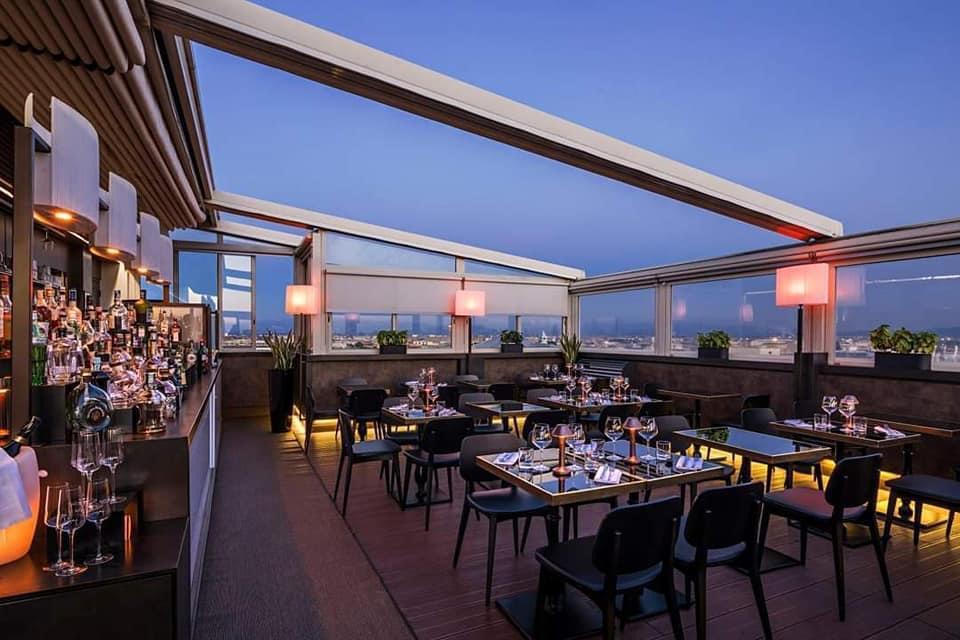 Terrazza Cielo Roma Rooftop Sunday Aperitiv 18 ottobre