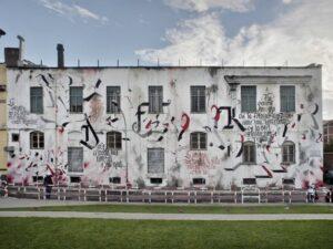 Roma Street Art Murale Brus Via giuseppe libetta
