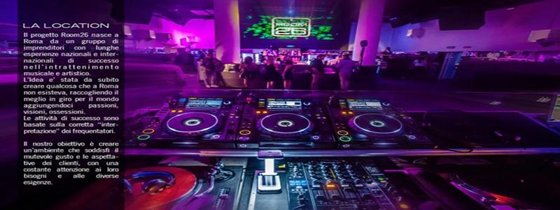 discoteca room 26 roma eur