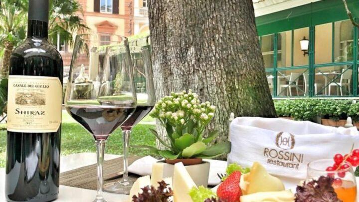 Giardino Rossini aperitivo Hotel Quirinale venerdì 21 maggio 2021
