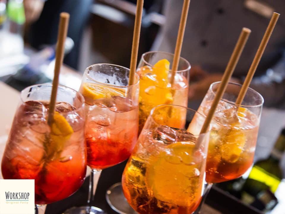 SPRITZ PARTY Hotel Quirinale venerdì 21 Maggio Giardino Rossini
