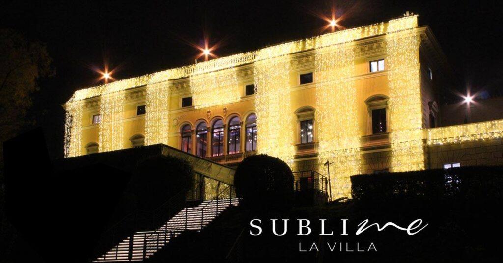 Pranzo Aperitivo e Cena La Villa Sublime sabato 19 Giugno 2021