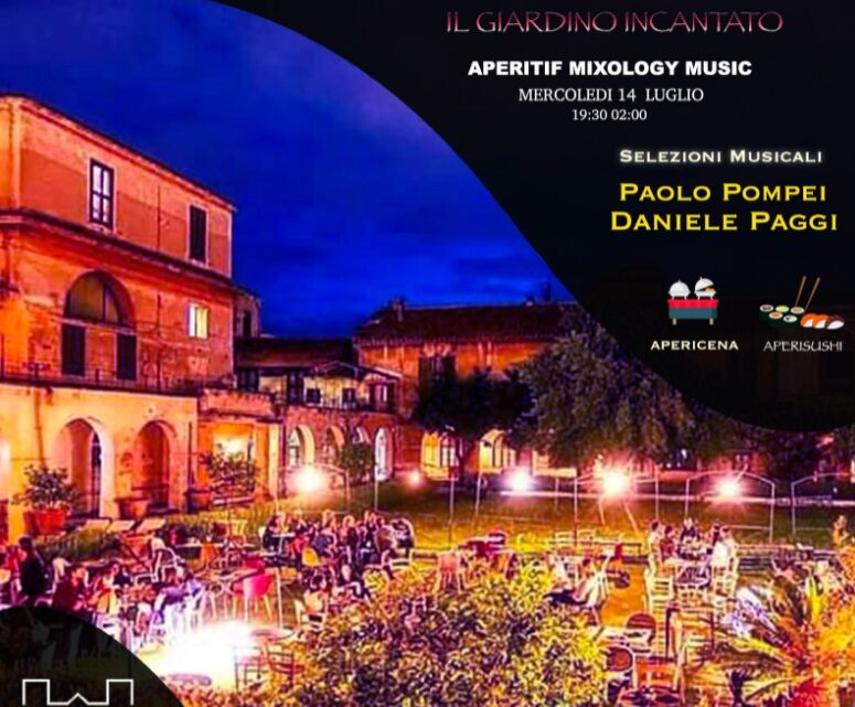 Aperitivo Borgo Ripa mercoledì 14 luglio ATMOSPHERE Dj Pompei & Paggi