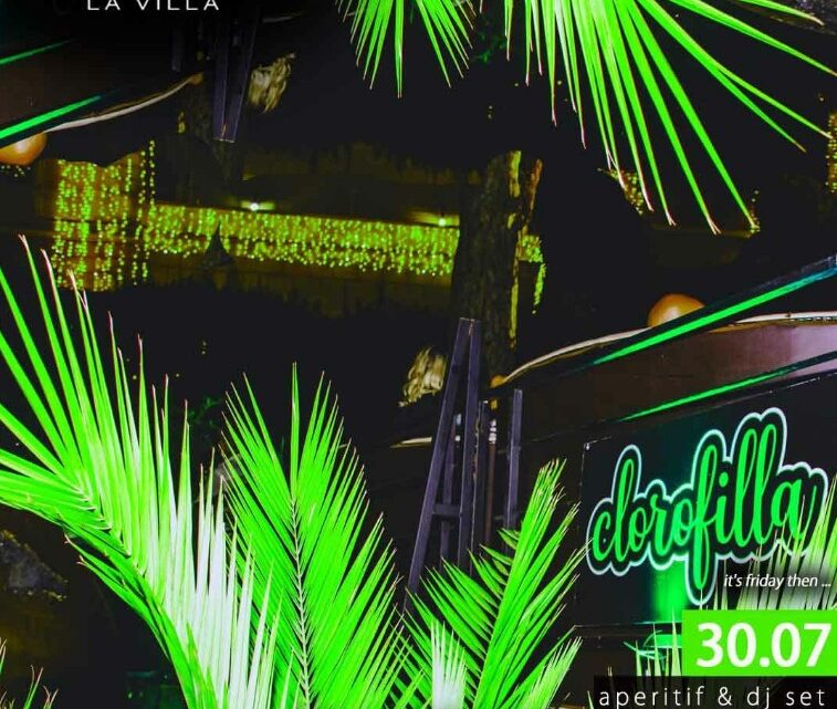 Aperitivo La Villa Sublime venerdì 30