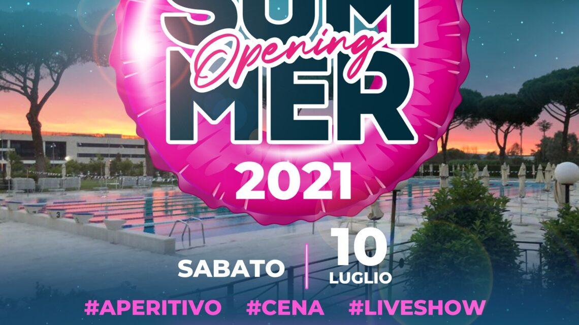 Salaria Sporting Village sabato 10 luglio SUMMER PARTY