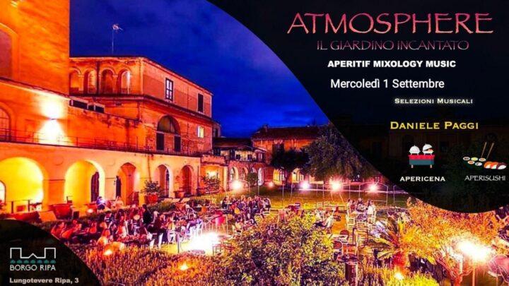 Aperitivo Borgo Ripa mercoledì 1 settembre Atmosphere 🍋