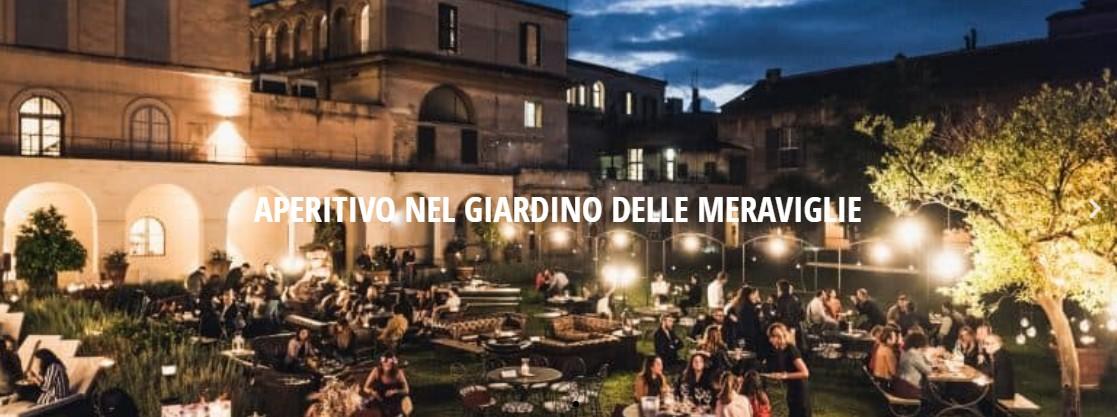 Borgo Ripa Aperitivo domenica 29 agosto Secret Garden Trastevere