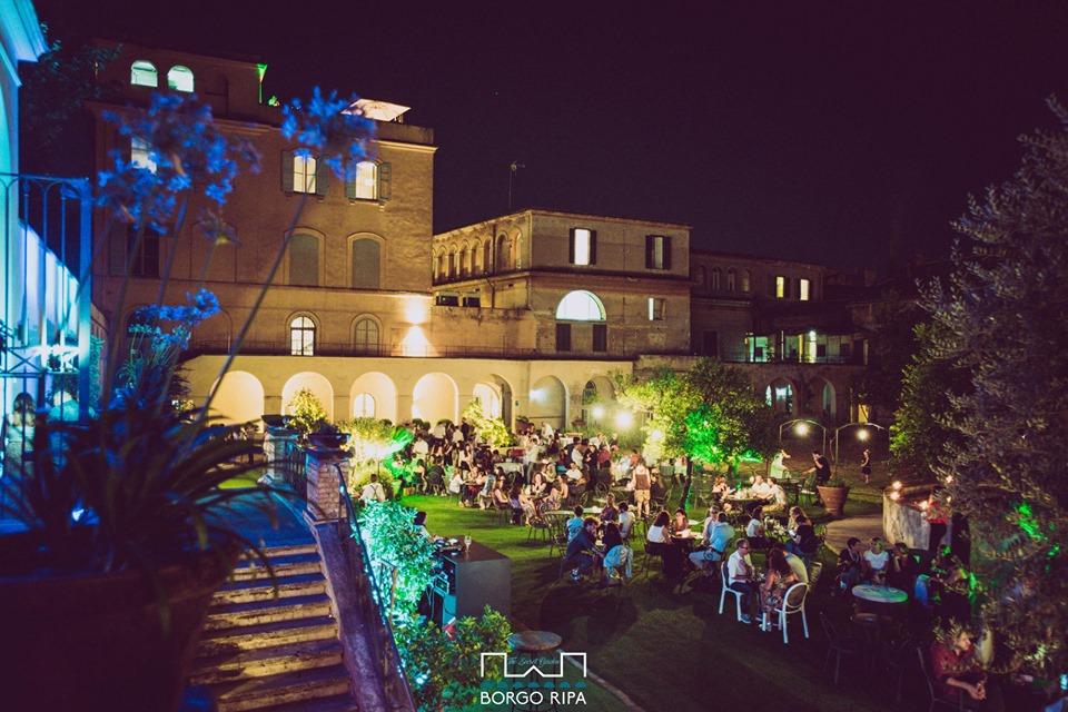 Borgo Ripa Aperitivo venerdì 10 settembre Giardino Meraviglie