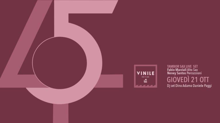 Discoteca Vinile Roma giovedì 21 ottobre 2021 I ♥ 45Giri